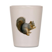 Peace Squirrel Shot Glass