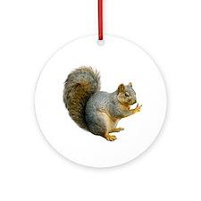 Peace Squirrel Ornament (Round)
