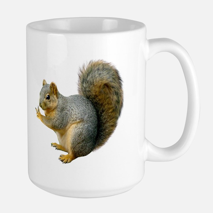 Peace Squirrel Large Mug