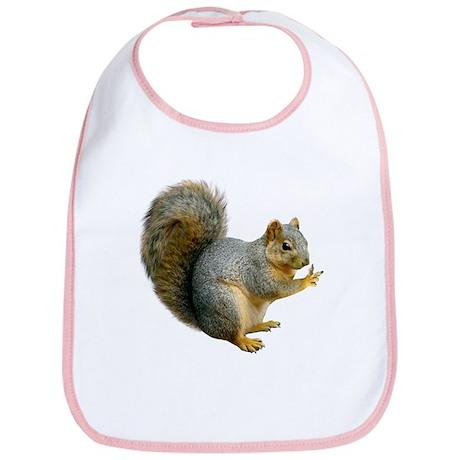 Peace Squirrel Bib
