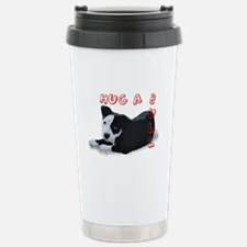 Hug-A-Bull Stainless Steel Travel Mug