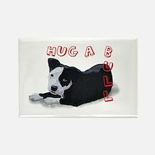 Hug-A-Bull Rectangle Magnet