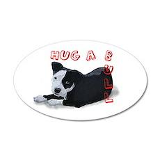 Hug-A-Bull 22x14 Oval Wall Peel