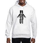 Typographic Robot Hooded Sweatshirt