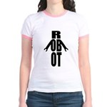 Typographic Robot Jr. Ringer T-Shirt