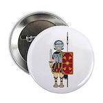"""Ancient Roman Soldier 2.25"""" Button"""