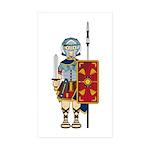 Ancient Roman Soldier Sticker (10 Pk)
