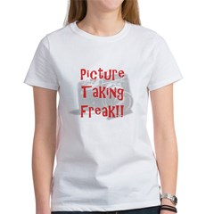 Picture Taking Freak Women's T-Shirt
