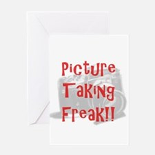 Picture Taking Freak Greeting Card