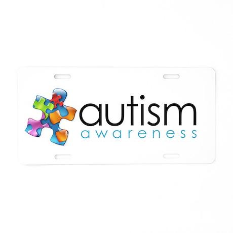PuzzlesPuzzle (MC) Aluminum License Plate