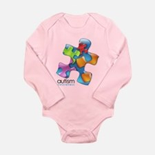 PuzzlesPuzzle (MC) Long Sleeve Infant Bodysuit