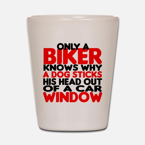 Only a Biker Shot Glass