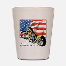 All American Chopper Shot Glass