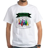 Laboratory week Mens White T-shirts
