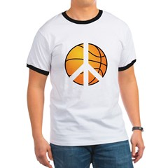 Peace Basketball T