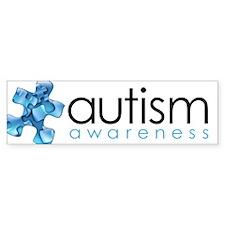 PuzzlesPuzzle (Blue) Bumper Sticker