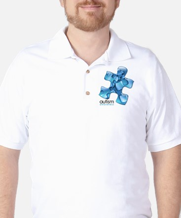 PuzzlesPuzzle (Blue) Golf Shirt