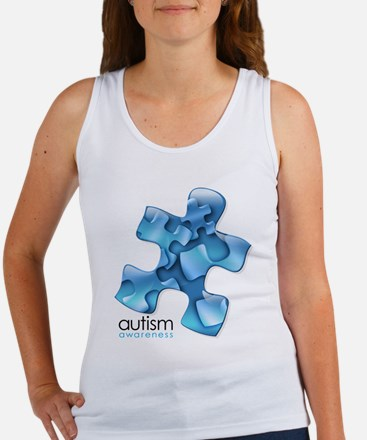 PuzzlesPuzzle (Blue) Women's Tank Top