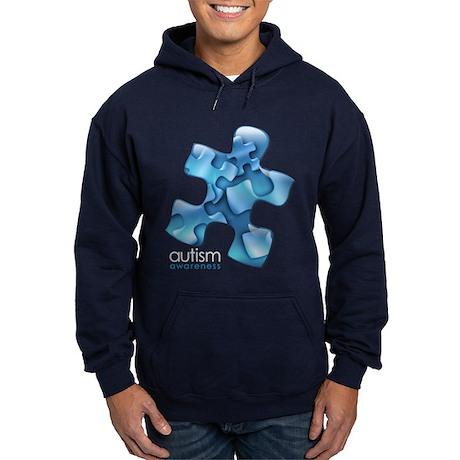 PuzzlesPuzzle (Blue) Hoodie (dark)