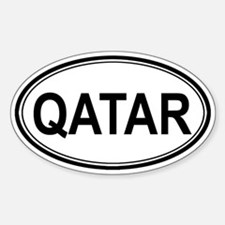 Qatar Euro Oval Decal