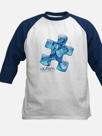 PuzzlesPuzzle (Blue) Kids Baseball Jersey