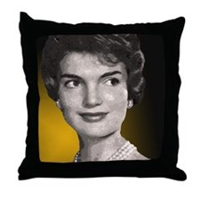 Jackie Oh! Close Up Throw Pillow