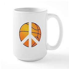 Peace Basketball Mug