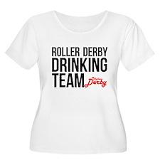 Roller Derby Drinking Team T-Shirt