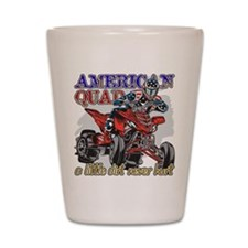 American Quad Shot Glass