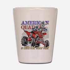 American Quad Shot Glass