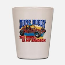 Dune Buggy Sandbox Shot Glass