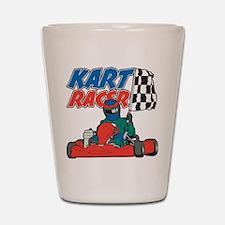 Kart Racer Shot Glass