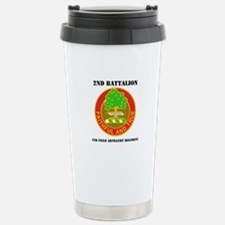 2-5 F A RGT WITH TEXT Stainless Steel Travel Mug