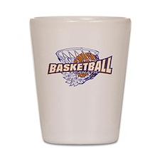 Basketball Fanatic Shot Glass