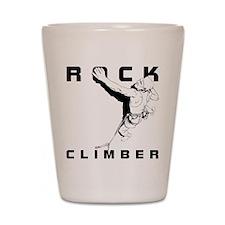 ROCK CLIMBER Shot Glass