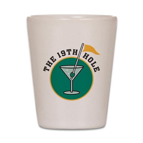 The 19th Hole Golf Shot Glass