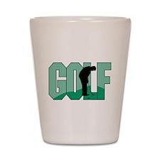 GOLF Putt Shot Glass