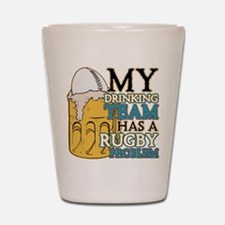 Rugby Drinking Team Shot Glass