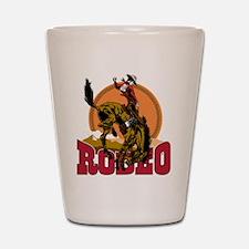 Rodeo Bronco Shot Glass