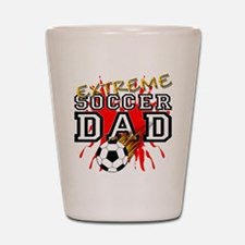 Extreme Soccer Dad Shot Glass