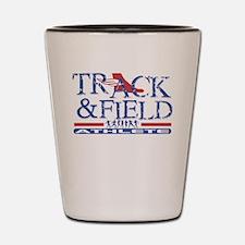 Funny Tracker Shot Glass