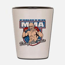 MMA Fighter Shot Glass