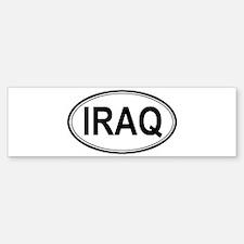 Iraq Euro Bumper Bumper Bumper Sticker