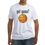 got game? Fitted T-Shirt
