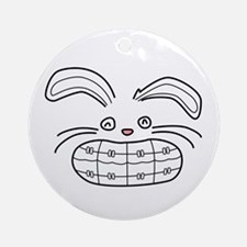Bunny Brace Ornament (Round)