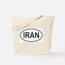 Iran Euro Tote Bag