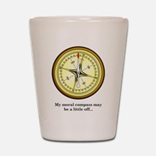 Moral Compass Shot Glass