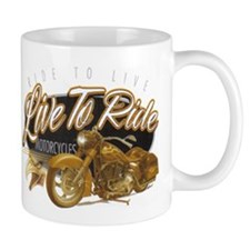 LIVE TO RIDE Mug