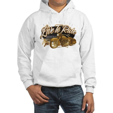 LIVE TO RIDE Hooded Sweatshirt