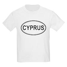 Cyprus Euro Kids T-Shirt